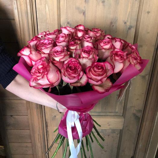 """Букет изроз """" 21 розы"""""""