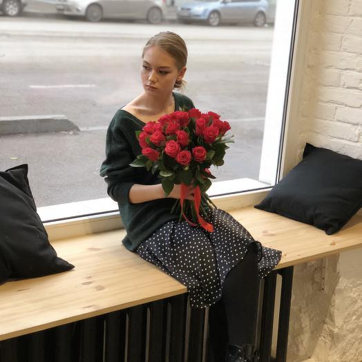 Роза нежная: букеты цветов на заказ Flowwow
