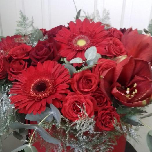 Коробка   Для тебя: букеты цветов на заказ Flowwow