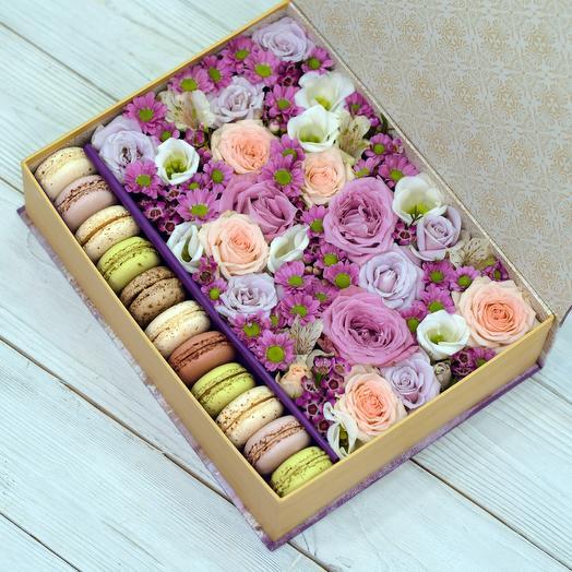 Шкатулка Новелла: букеты цветов на заказ Flowwow