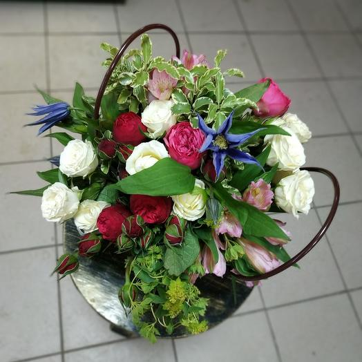 Садовый бриз: букеты цветов на заказ Flowwow