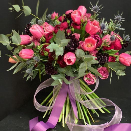 Зимний шарм: букеты цветов на заказ Flowwow