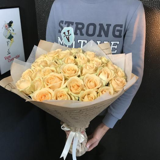 Пич Аваланж M: букеты цветов на заказ Flowwow