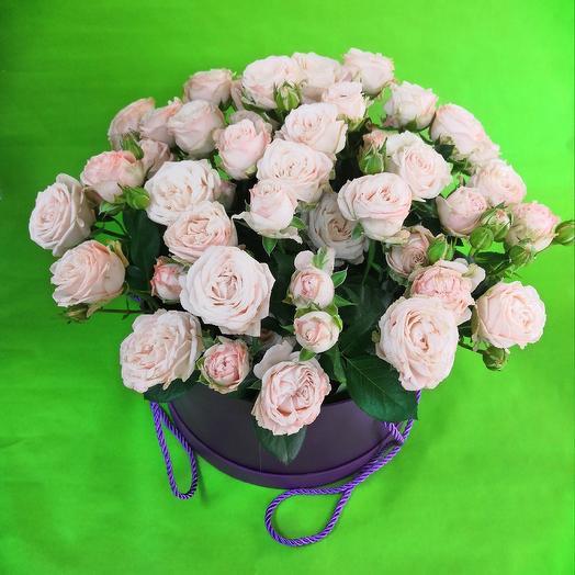 Шляпная коробка 27: букеты цветов на заказ Flowwow