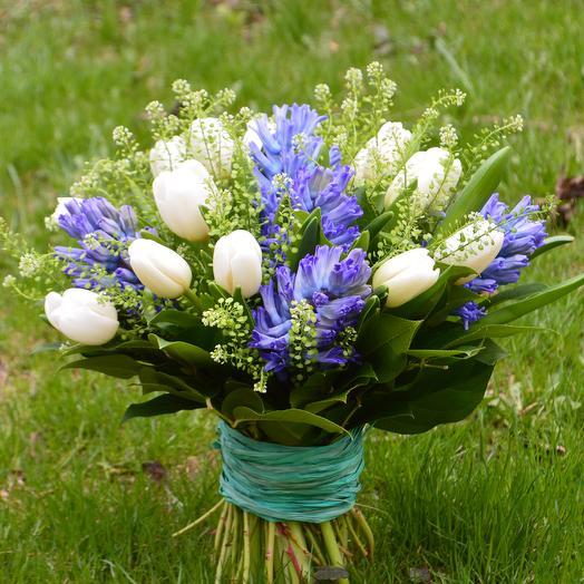 Весенний туман: букеты цветов на заказ Flowwow