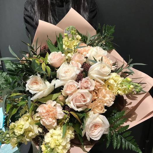 Пудровые облака: букеты цветов на заказ Flowwow