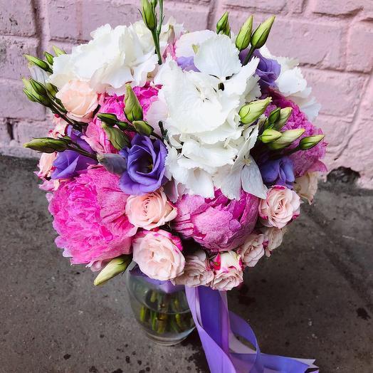 Букет невесты «Violet»: букеты цветов на заказ Flowwow