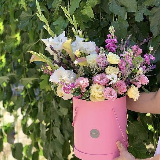 Розовый день: букеты цветов на заказ Flowwow