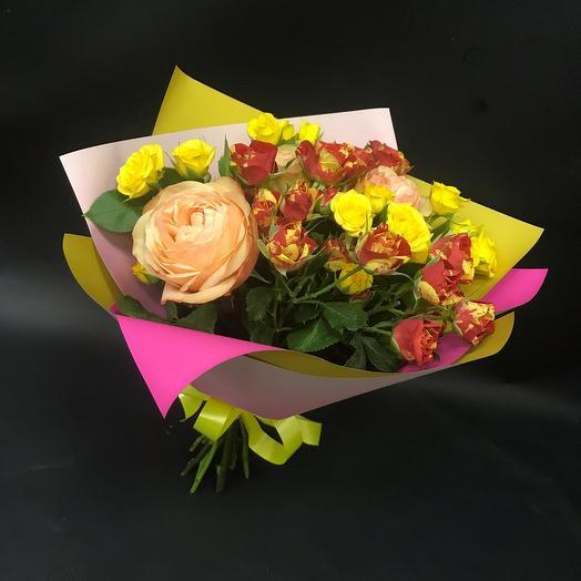 Ласковый: букеты цветов на заказ Flowwow