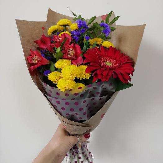 Комплимент 1: букеты цветов на заказ Flowwow