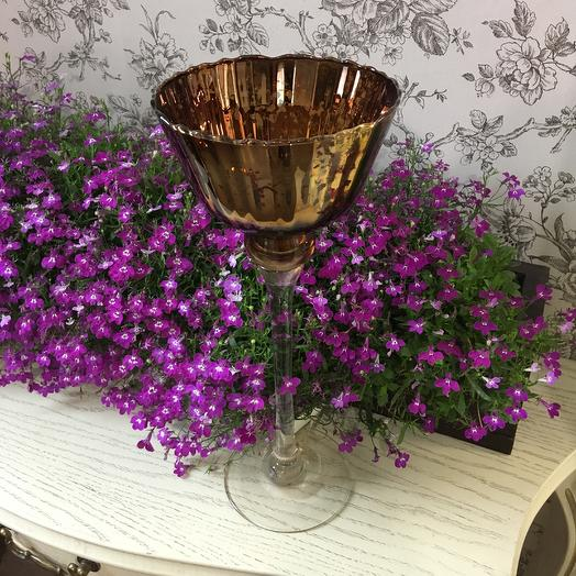 Ваза-подсвечник: букеты цветов на заказ Flowwow