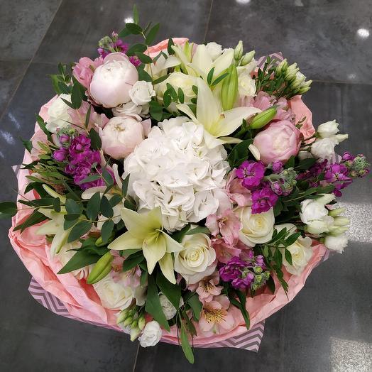 """Авторский букет """"Поэма о чувствах"""": букеты цветов на заказ Flowwow"""