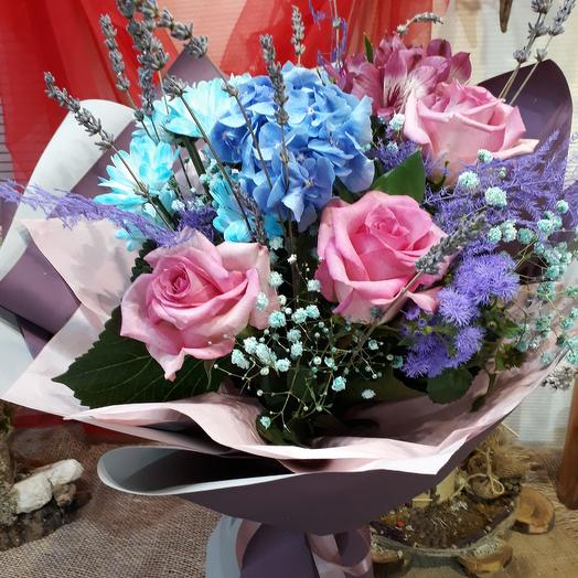Голубые дали: букеты цветов на заказ Flowwow