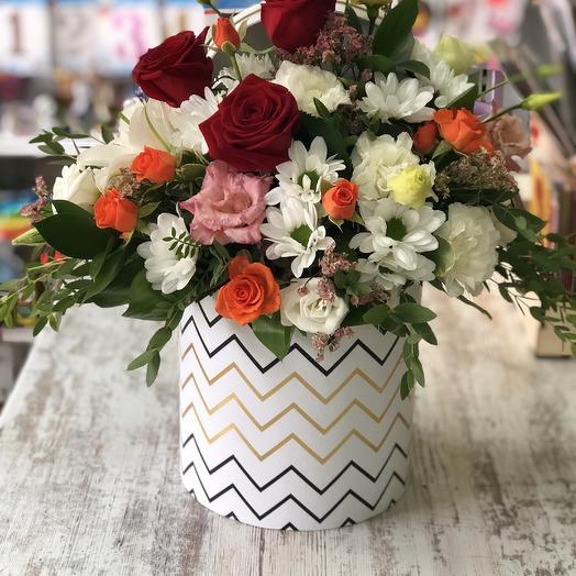 Карибский закат: букеты цветов на заказ Flowwow