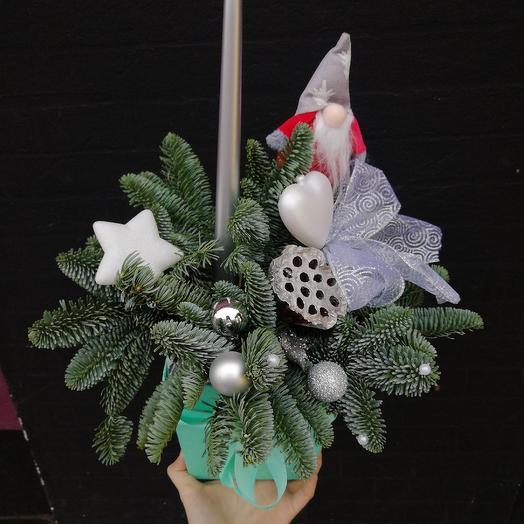 Гномик: букеты цветов на заказ Flowwow
