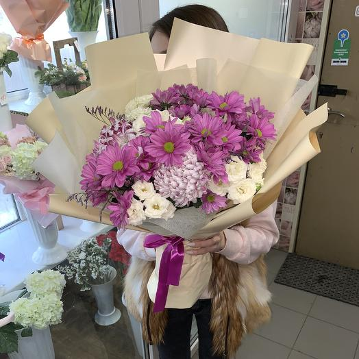 Сиреневый луг: букеты цветов на заказ Flowwow