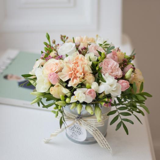Композиция из цветов «Оттепель»: букеты цветов на заказ Flowwow