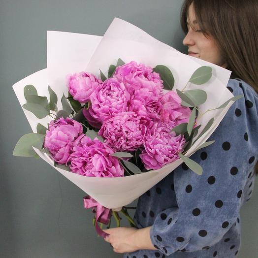 Pink Peony: букеты цветов на заказ Flowwow