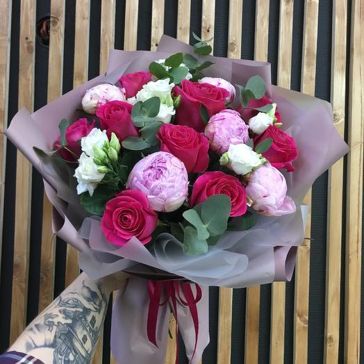 Pink sunset: букеты цветов на заказ Flowwow