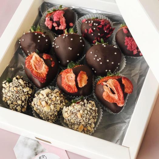 Strawberry in Dark Chocolate