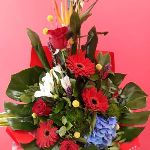 Цветочная композиция Зорро: букеты цветов на заказ Flowwow