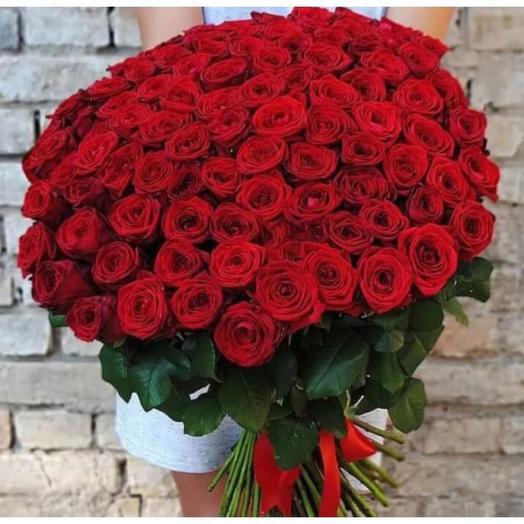 Роза 77 шт 70 см Эквадор