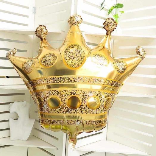 Фольгированная корона