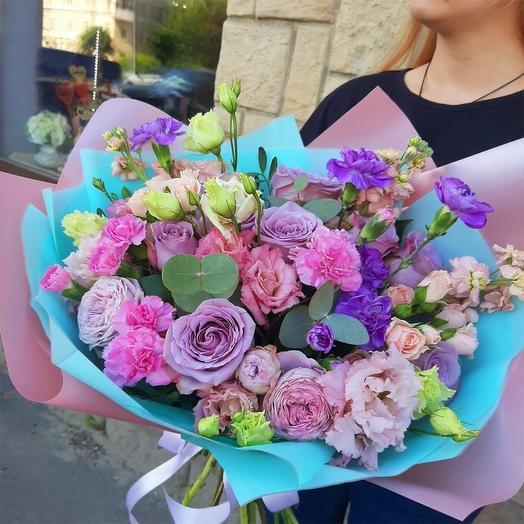 """Букет цветов """"Палитра художника"""""""