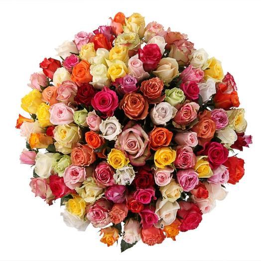 Кения микс 101 роза