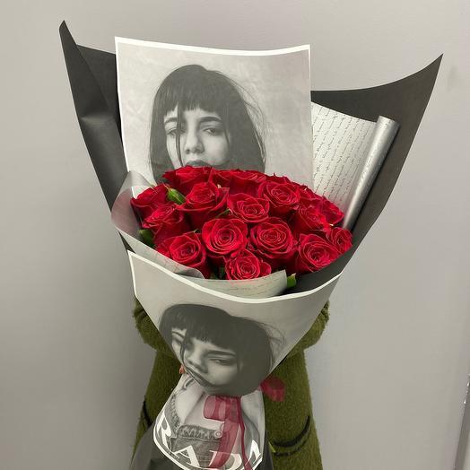 21 Красная Роза -мутен руж