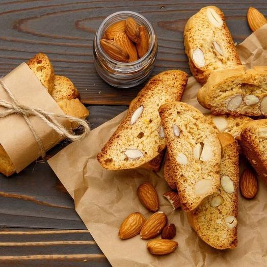 Кантуччи с миндалем  Sasha-Bread  100 гр