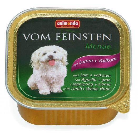 Animonda Vom Feinsten Adult консервы с ягненком и цельными злаками для собак 150 г
