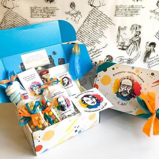 """Подарочный набор DREAMBOX """"С Днём рождения! Писатели"""""""