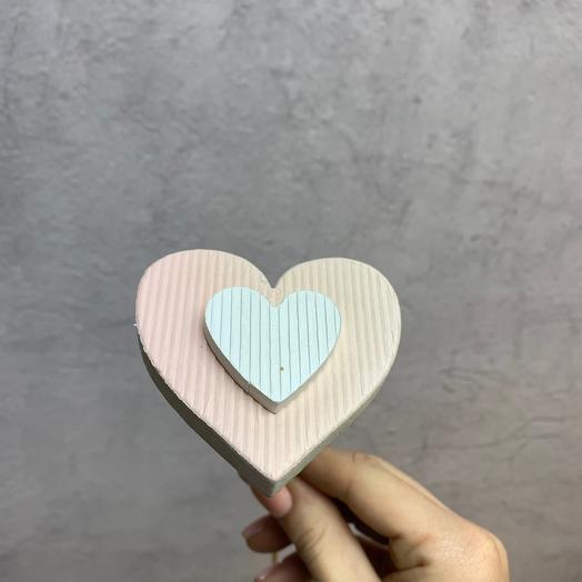 Топпер на пружине « Сердечко»