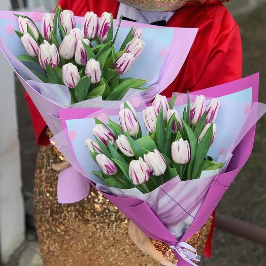 15 Тюльпанов в упаковке