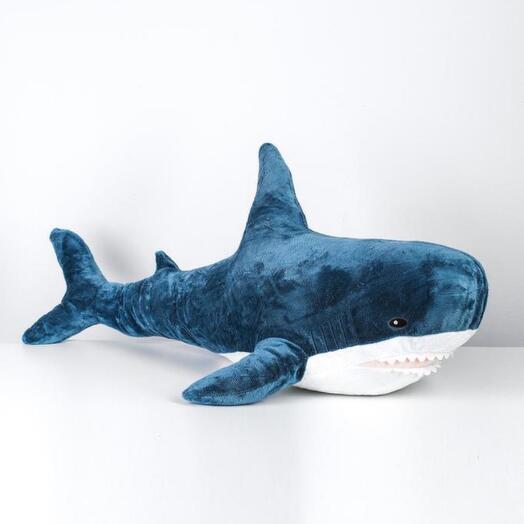 Мягкая игрушка «Акула», 100 см