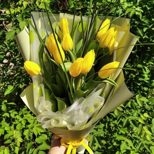 Тюльпаны 11шт