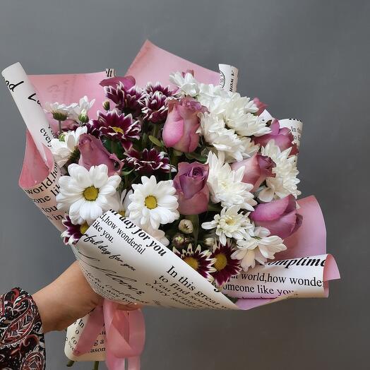 Bouquet Purple haze