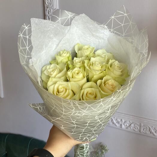 Кремовые розы 🍨☁️