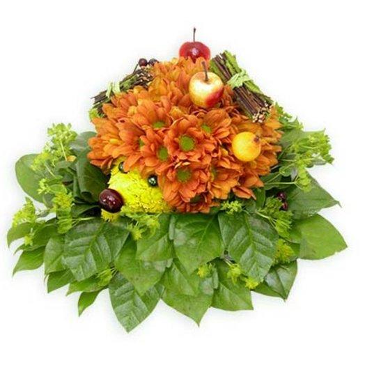 Композиция Колючий зверёк: букеты цветов на заказ Flowwow