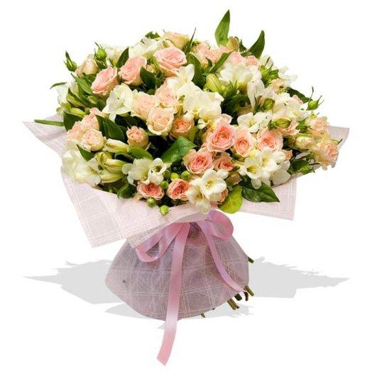 Букет цветов Super Star: букеты цветов на заказ Flowwow