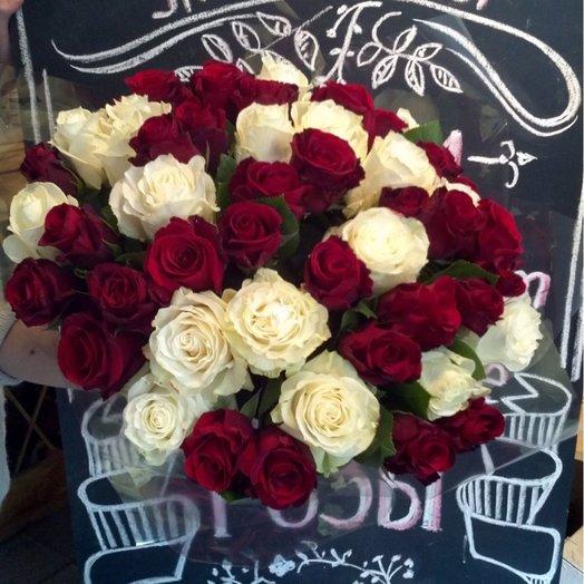 Букет 2 в одном: букеты цветов на заказ Flowwow