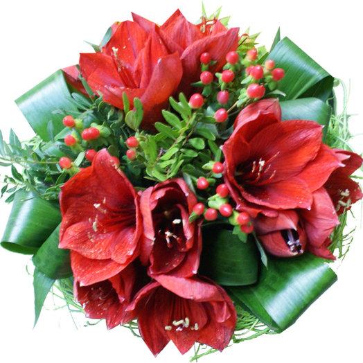 Букет Феерия чувств: букеты цветов на заказ Flowwow