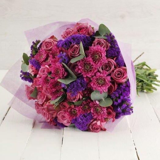 Стереобукет SALVADOR in LOVE: букеты цветов на заказ Flowwow