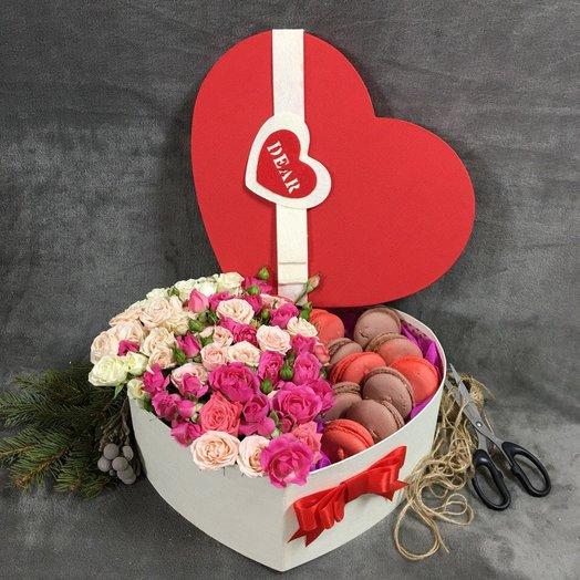 "Коробка "" Моей дорогой"": букеты цветов на заказ Flowwow"