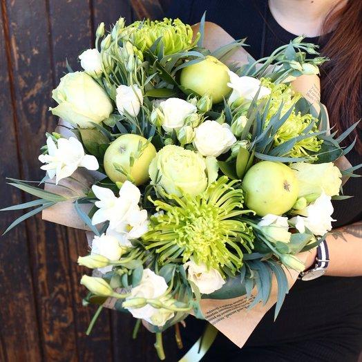 Райские яблоки: букеты цветов на заказ Flowwow