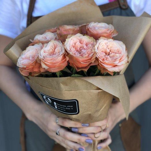 """Букет из девяти роз """"Милли"""": букеты цветов на заказ Flowwow"""