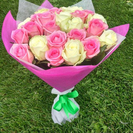 """""""Mixed roses"""": букеты цветов на заказ Flowwow"""
