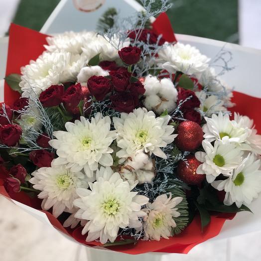 Яблоки на снегу: букеты цветов на заказ Flowwow