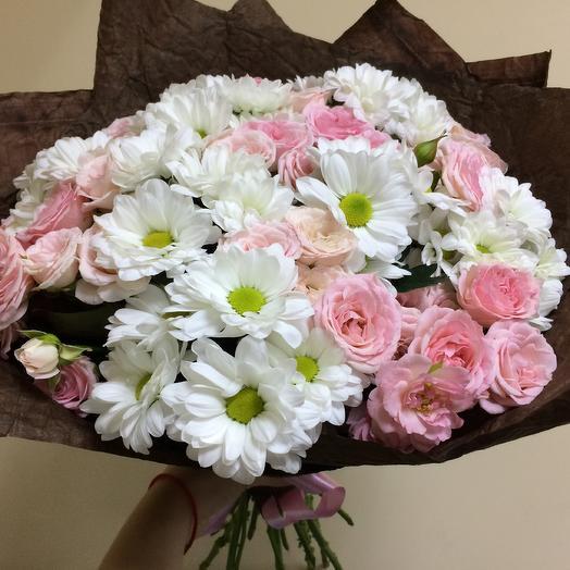 Зефирная сказка: букеты цветов на заказ Flowwow